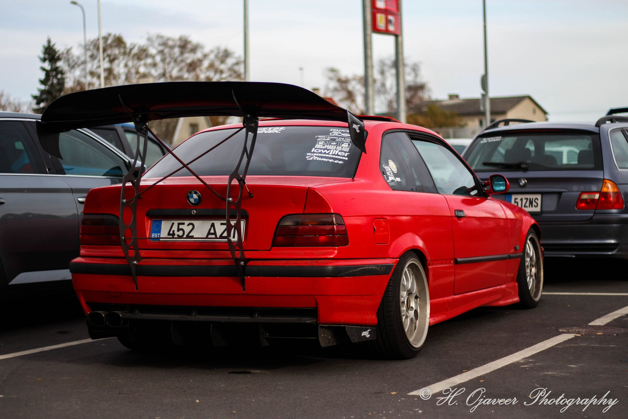Bmw E36 Chassis Mount Wing Wideest